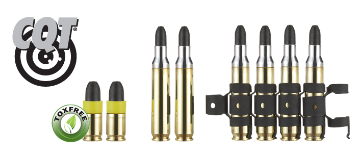 cqt training ammunition 9 mm and 5 56 mm always on target